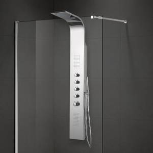 Bilde av Badnor Perfect Rain dusjpanel m/ termostatbatteri KROM