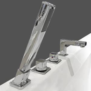 Bilde av Pfister Composed 4-hulls badekararmatur