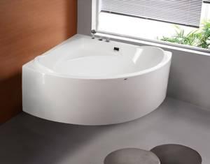 Bilde av Badnor Adele badekar m/ innb. blandebatt. 150x150cm