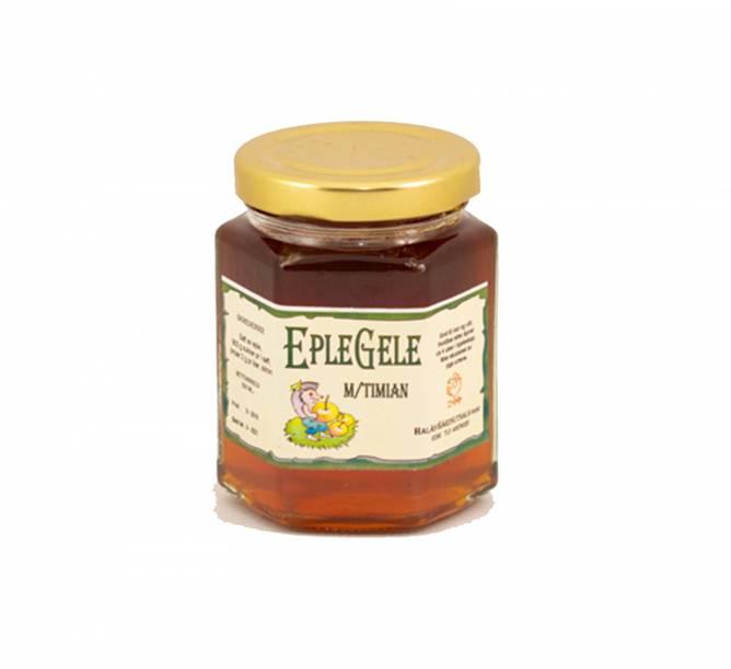 Bilde av Eplegelè med timian