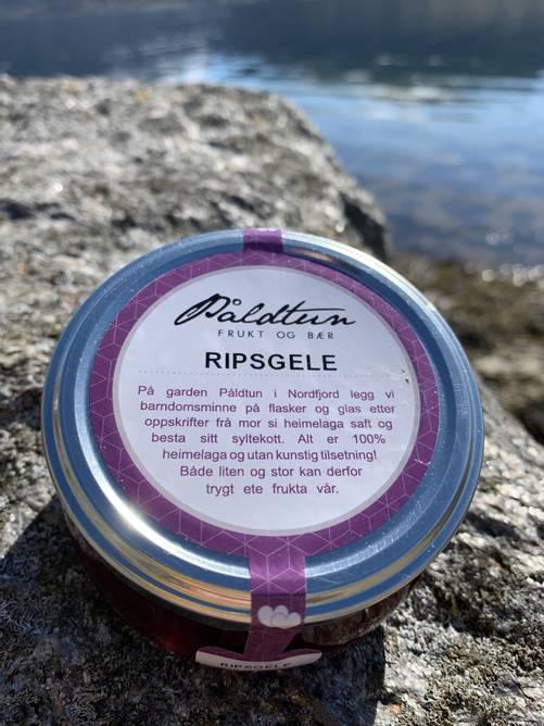 Bilde av Eple- og ripsgelé frå Påldtun