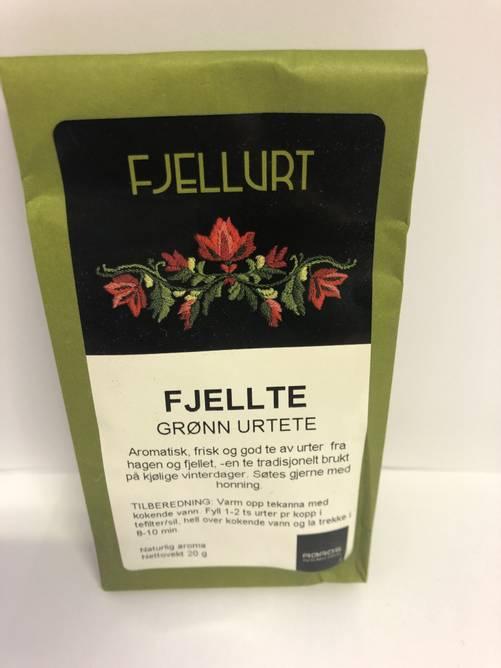 Bilde av Fjellte - grøn te