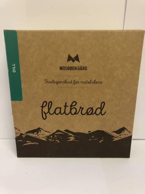 Bilde av Flatbrød med dill frå Mosbøen Gård
