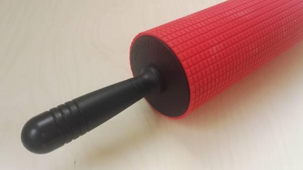 Kjevle silikon rutet 8 x 32 cm