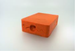 Bilde av Silikon gummi orange 5kg