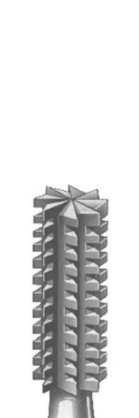 Sylinderfres m/tverrkutt Nr 36