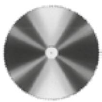 Sagblad 232 12,5mm Ø
