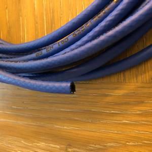 Bilde av Slange oksygen blå 3,2mm innv/ 7,0mm utv