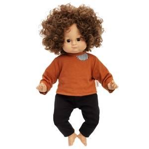 Bilde av Lillan-dukke 36 cm brunt hår
