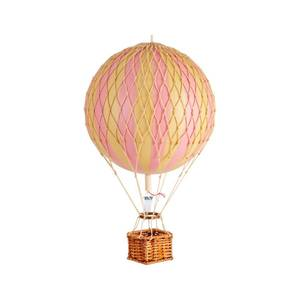 Bilde av Luftballong medium Travel Light rosa