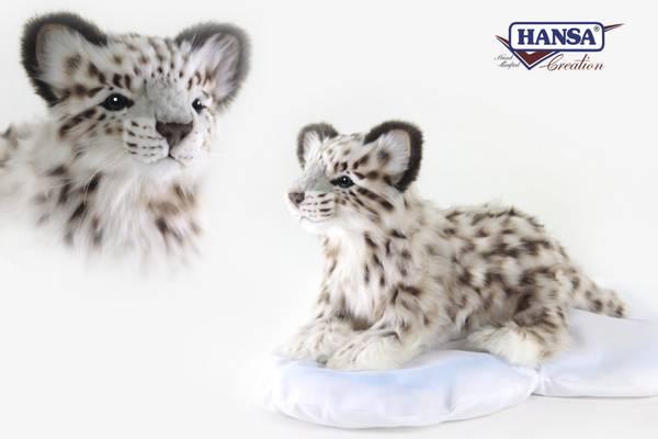 HansaCreation Snøleopard fluffy
