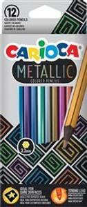 Bilde av Fargeblyanter metallic 12pk