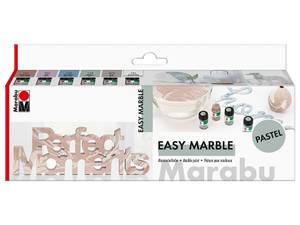 Bilde av Marabu Easy Marble Sett Pastell