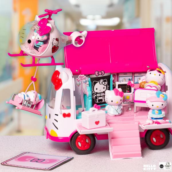 Hello Kitty Emergency Ambulance