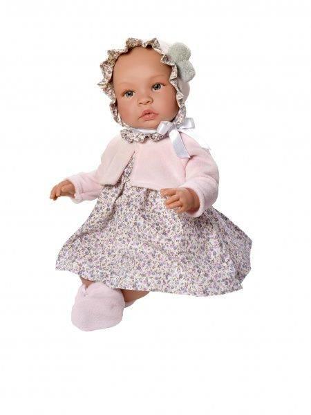 Asi Leonora blomstrete kjole