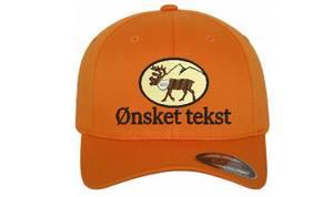 Bilde av Flexfit jakt caps emblem reinsdyr