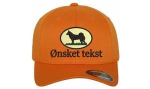 Bilde av Flexfit jakt caps emblem sort elghund