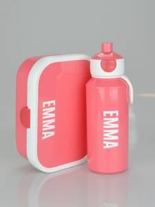 Bilde av Matboks og flaske - fersken