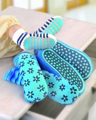 Sock Stop antiskli - blå