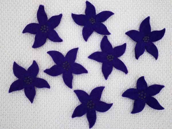 Bilde av Tova blomst - amestyst