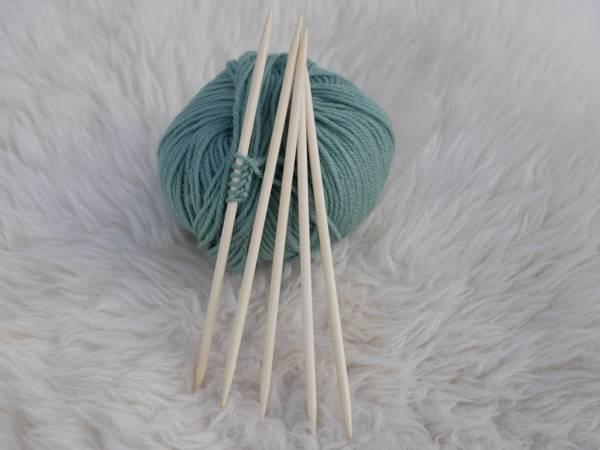 Bilde av Addi strikkepinne bambus settpinner 20cm