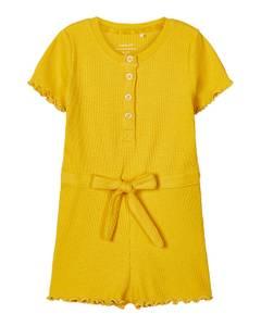 Bilde av name it Knit jumpsuit spicy mustard