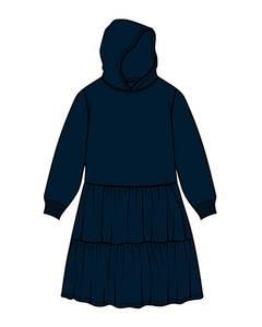 Bilde av name it danita kjole Dark Sapphire