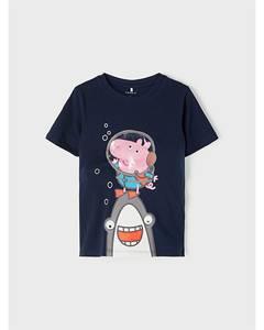 Bilde av name it Peppa Gris Mikko T-skjorte