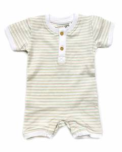 Bilde av name it Josia Rompert Bright White/stripes