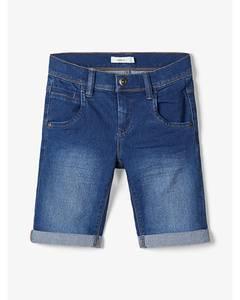 Bilde av name it Sofus shorts  medium Blue denim