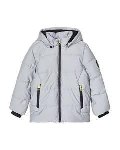 Bilde av name it Manton refleks jakke frost gray