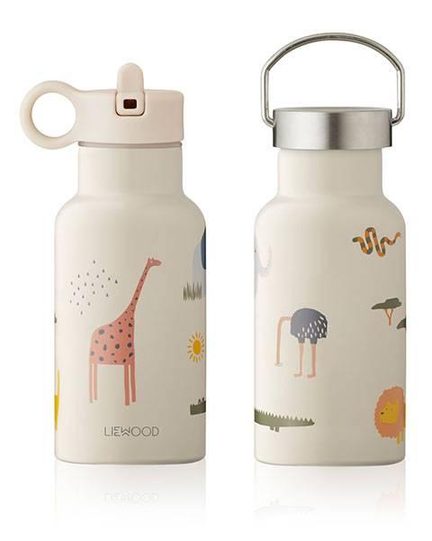 Liewood Anker water bottle Safari sandy mix