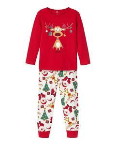 Bilde av name it Sukker pysjamas jester red