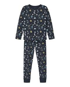 Bilde av name it pyjamas 2 delt Sapphire space noos Dark