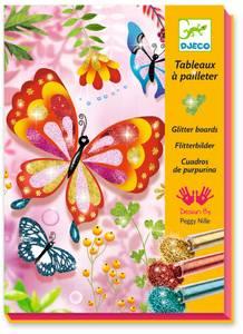 Bilde av Glitter sommerfugler - Djeco