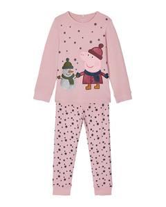Bilde av name it Peppa Gris Olla pysjamas pink nektar