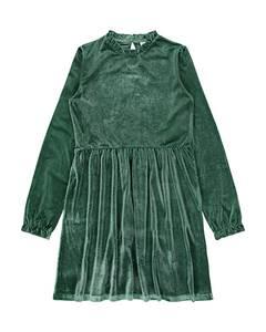 Bilde av name it olivia kjole hunter green