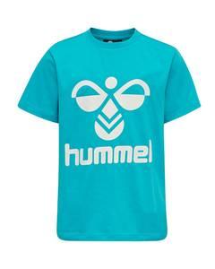 Bilde av Hummel Tres T-skjorte Scuba blue