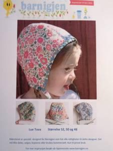 Barnigjen symønster lue Tuva