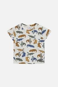 Bilde av Hust & Claire Arthur T-shirt Alligator, Sugar