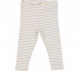 Bilde av MarMar Leggings, Modal rib pants, Blue Stripe