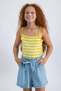 Bilde av Garcia Teen Girl Singlet, Yellow dust