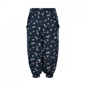 Bilde av Creamie Pants Blue Flower, Total Eclipse