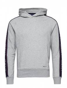 Bilde av Gant Archive Sweat Hoodie Light Grey Melange,
