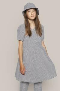 Bilde av Grunt Ida Wrap Dress, Rutet kjole