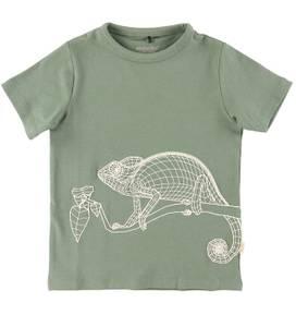Bilde av Minymo T-shirt Iguan, Agave Green