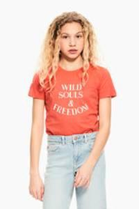 Bilde av Garcia Girls T-Shirt SS, Red Soul