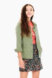 Bilde av Garcia Girls Utility Jacket, Green Summer