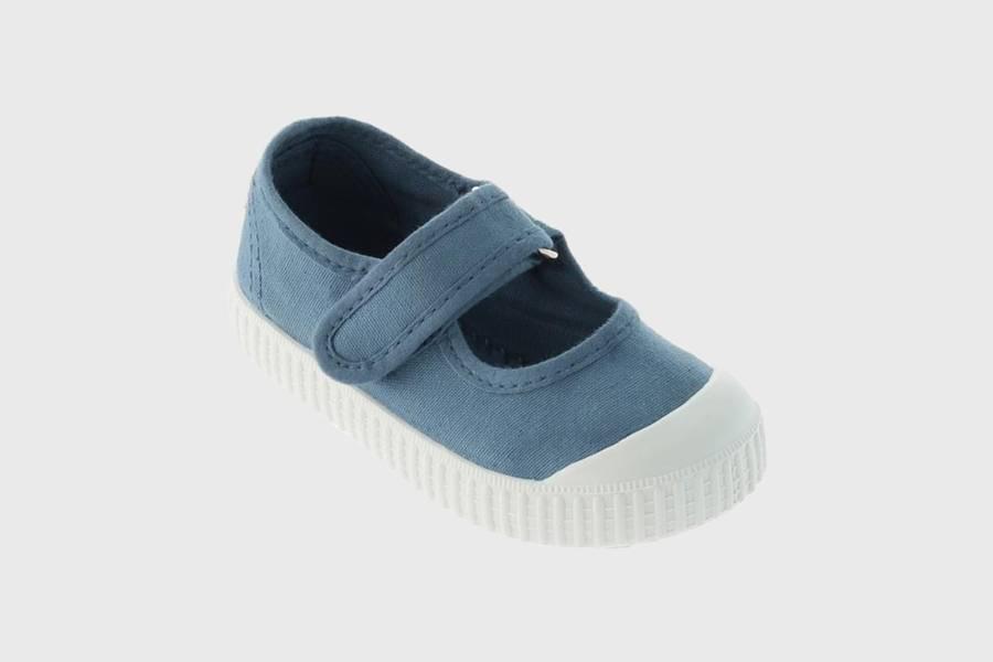Victoria Shoes Ballerinasko, Modell 36605, Farge: Jade