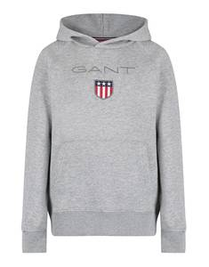 Bilde av Gant Shield Hoodie, hettegenser, Light Grey